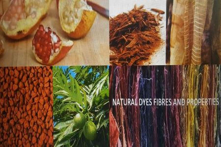 Natural Dyes, Fibres and Properties